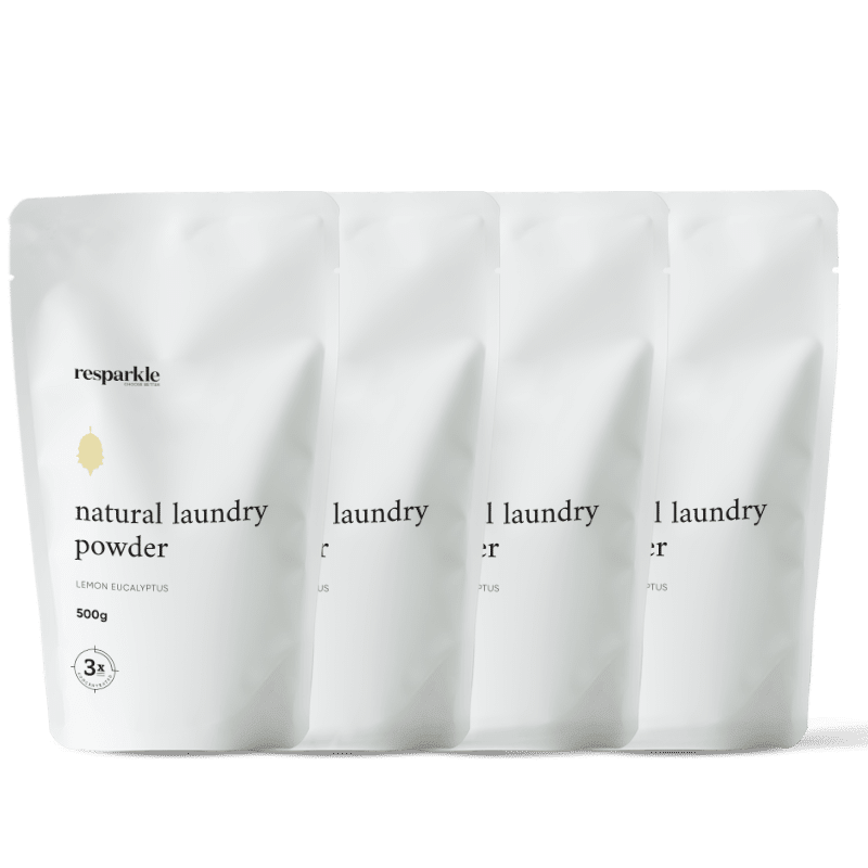 Resparkle Natural Laundry Powder Pack of 4 new-min