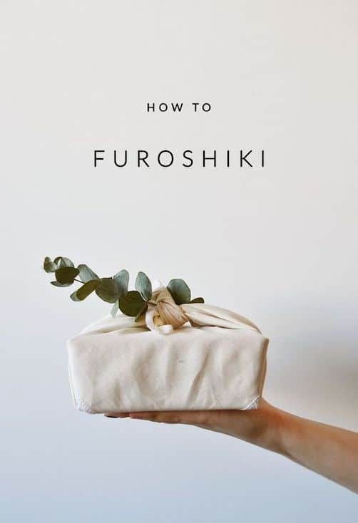 HOW TO FUROSHIKI